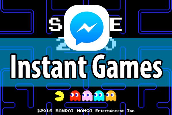 Facebookでパックマンができる!「Instant Games」の起動方法と遊び方