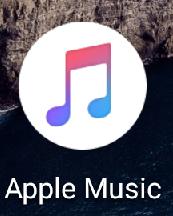 アンドロイド版の「Apple Music」を起動する