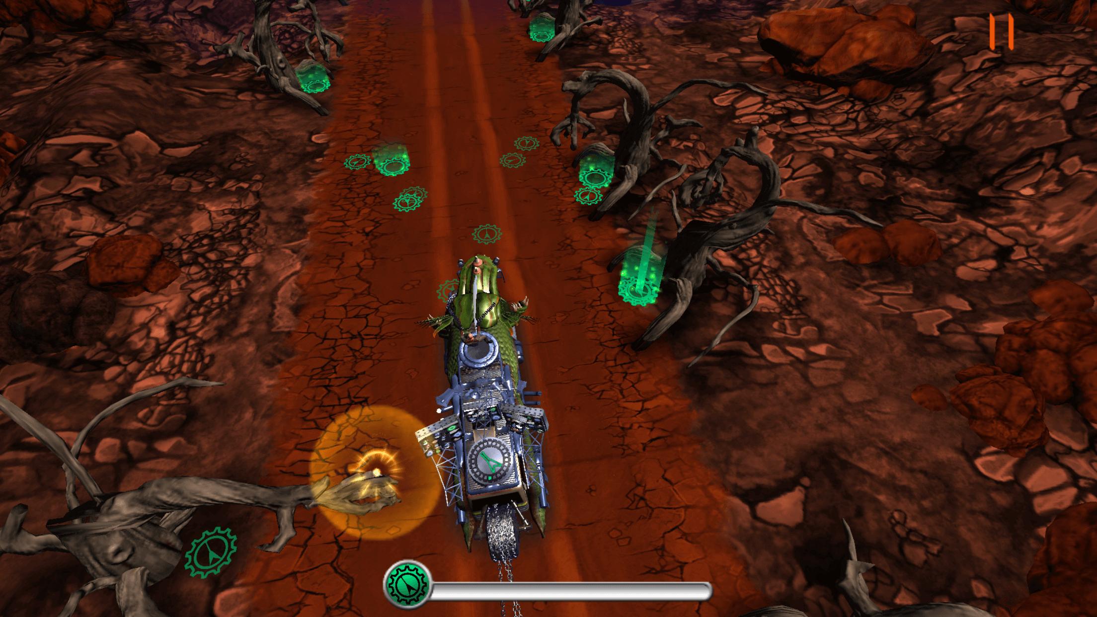 Judas Priest(ジューダス・プリースト)の[Road to Valhalla]ゲームの画面
