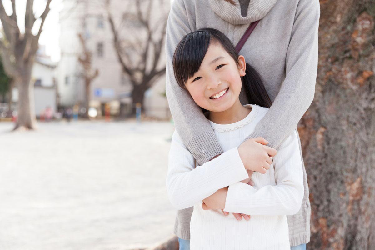 親も子どもも安心の場面