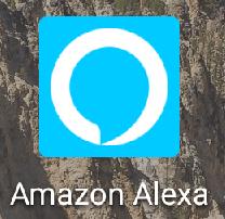 アマゾンアレクサ(Amazon Alexa)アプリのアイコン