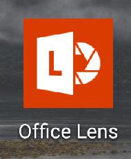 Office Lens(オフィスレンズ)アプリのアイコン