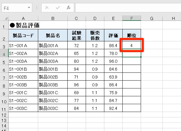 【エクセル時短】使ってる? データの順位を一瞬で見分けられる定番の「RANK.EQ」関数