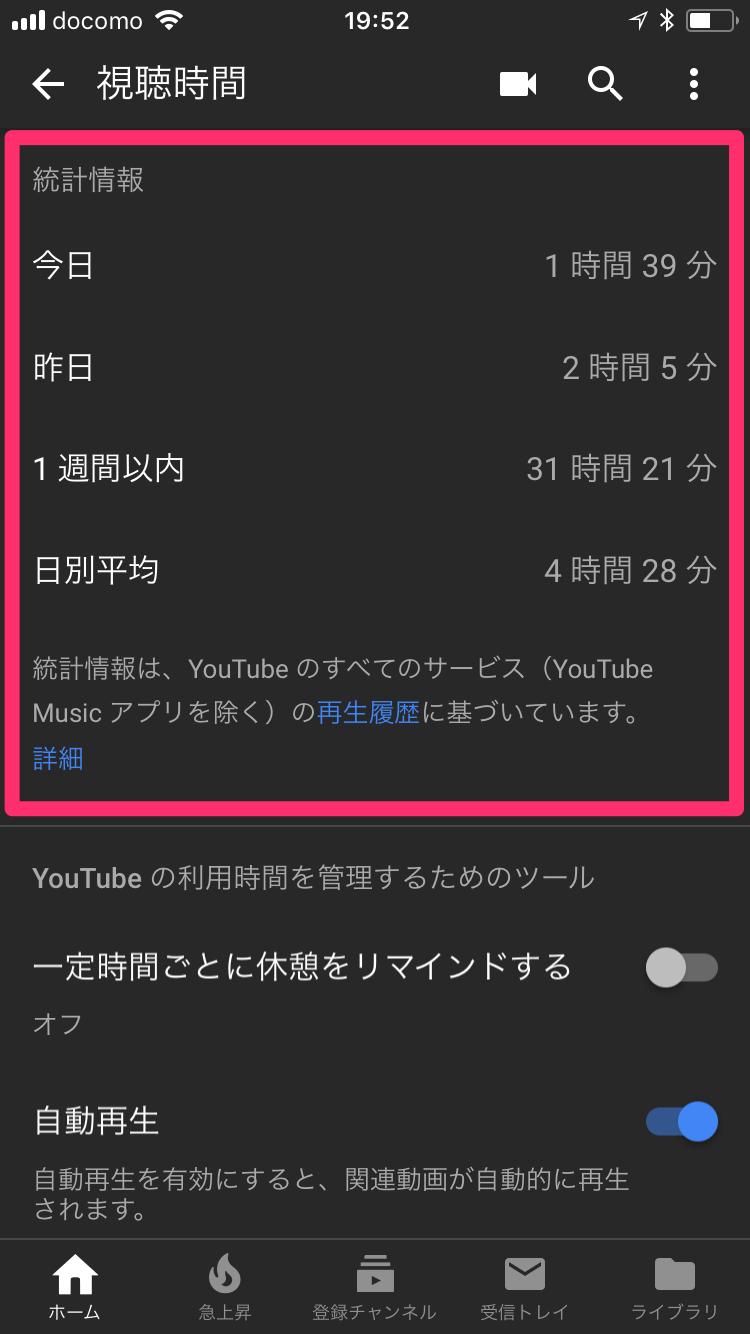 【YouTube】動画、そろそろ休憩したら? 一定時間ごとにリマインダーを表示する方法