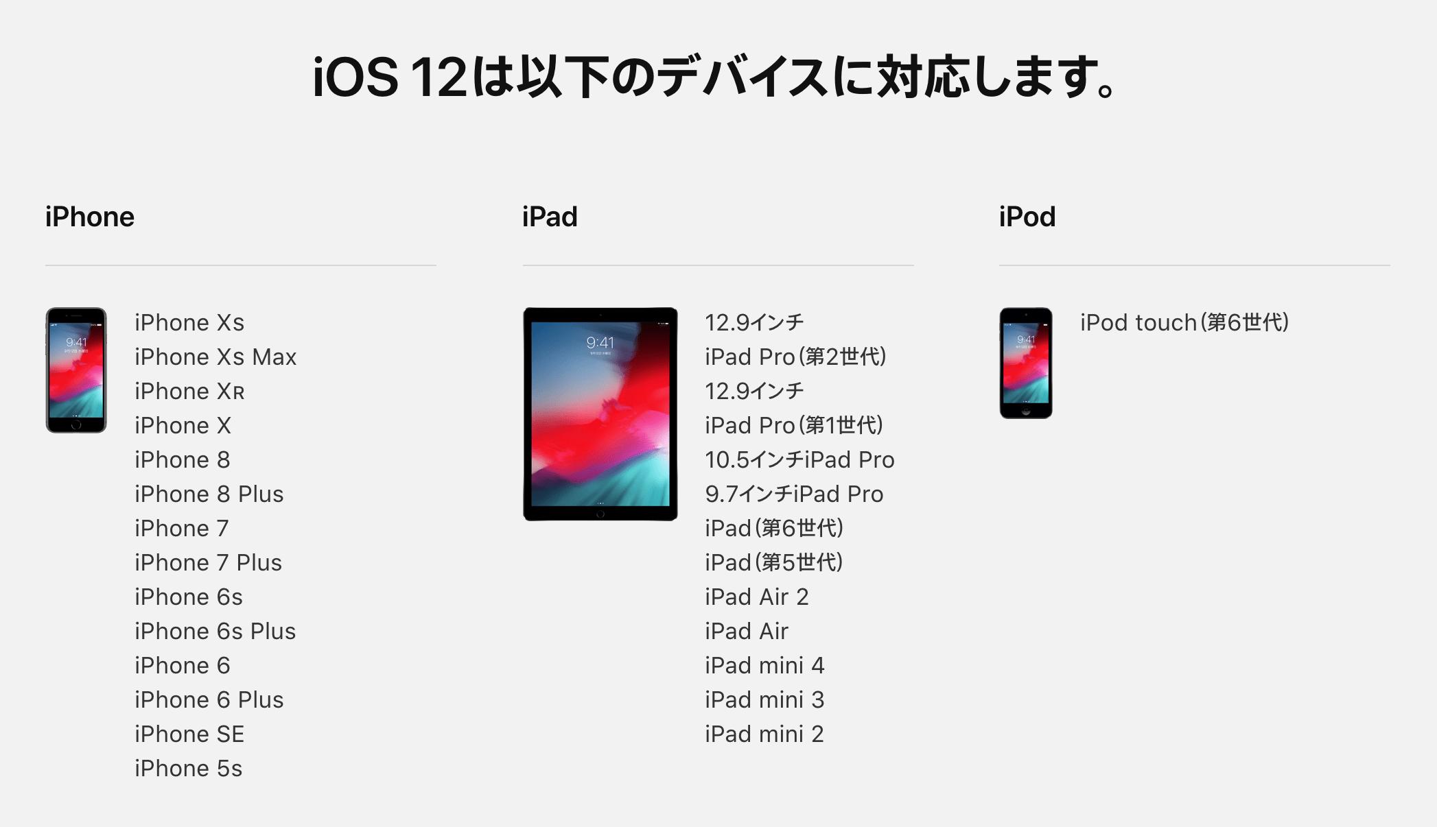 【iOS12 & iPhoneXS/XR】新機能・使い方まとめ。追加された機能やアプリ、便利な設定がすぐわかる!