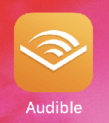 iPhone(アイフォーン)版Audibleアプリ(オーディブルアプリ)のアイコン