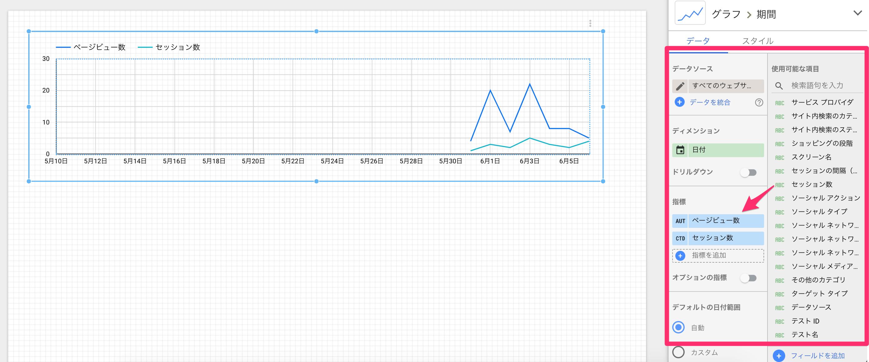 【Googleデータポータル】Googleアナリティクスと連携する方法。
