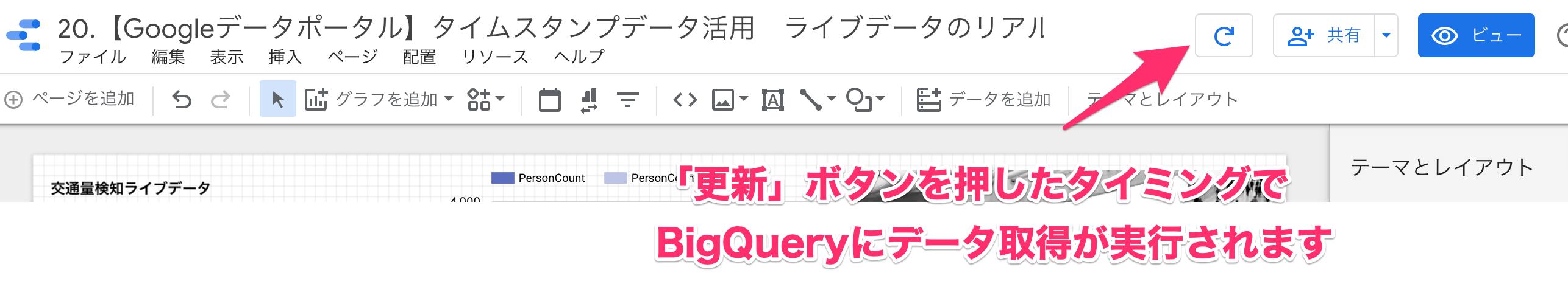 【Googleデータポータル】リアルタイム集計ダッシュボードの発展型。BigQueryとの連携でここまでできる