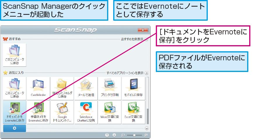 操作解説:PDFファイルをEvernoteに保存する