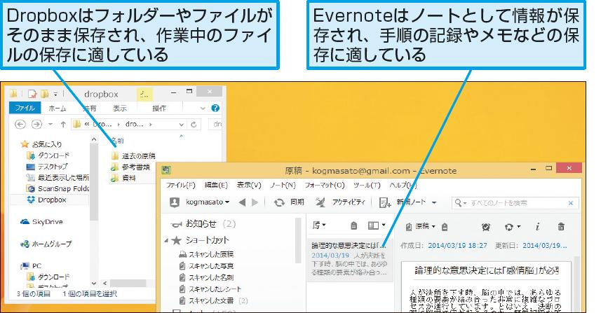 操作解説:Evernoteのサポート情報を確認する