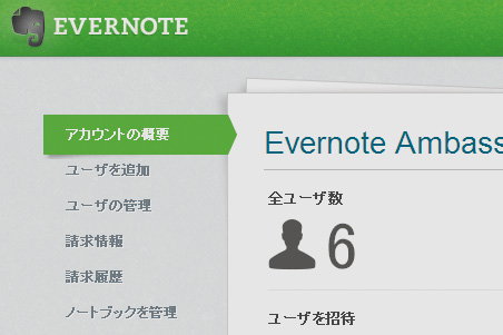 Evernote Businessの機能を知りたい