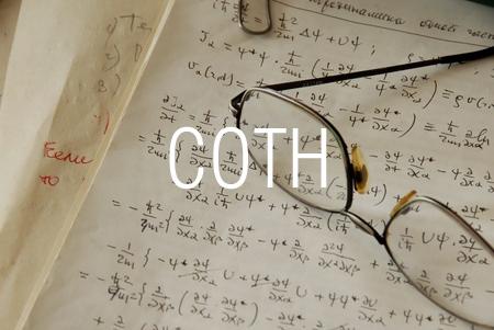 COTH関数で双曲線余接を求める
