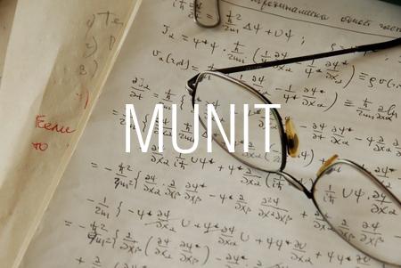 MUNIT関数で単位行列を求める