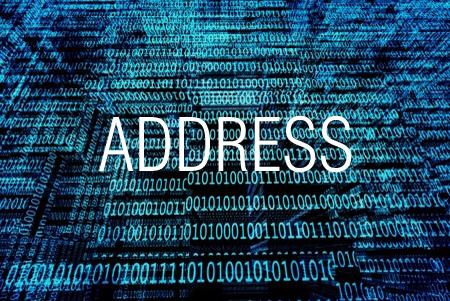ADDRESS関数で行番号と列番号からセル参照の文字列を求める