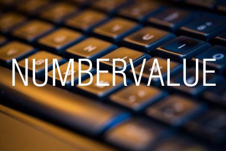 NUMBERVALUE関数で異なる表示形式を持つ数値の文字列を通常の数値に変換する