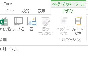 Excelのワークシートのヘッダーやフッターにファイル名などを入れて印刷する方法