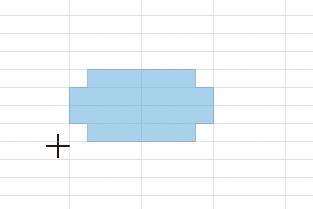 Excelで作成した図形をセルに合わせて配置する方法