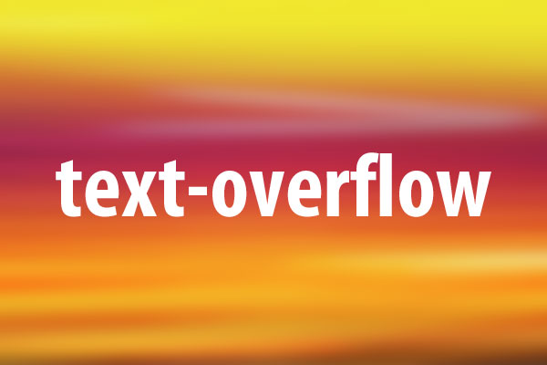 Text overflow css - Html div overflow ...