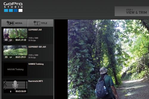 GoPro Studioで動画にBGMを付ける方法