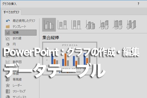 PowerPointでグラフと表を同時に表示する方法