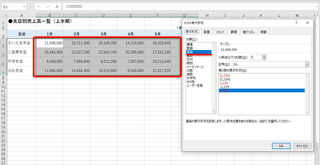 【エクセル時短】千円単位・百万円単位でわかりやすく。桁数の多い金額を省略して表示する方法