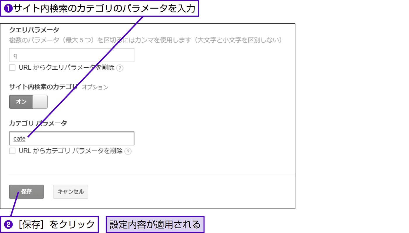サイト内検索がキーワードごとに何回実行されたかを計測する - できる逆引き Googleアナリティクス 増補改訂2版