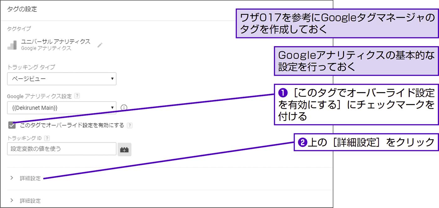 クロスドメイン用にトラッキングコードをカスタマイズする - できる逆引き Googleアナリティクス 増補改訂2版