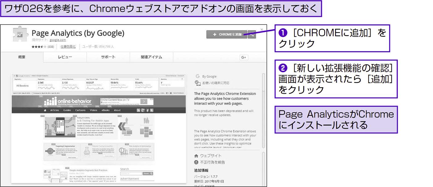 ページ内のクリック率から改善のヒントを得る - できる逆引き Googleアナリティクス 増補改訂2版