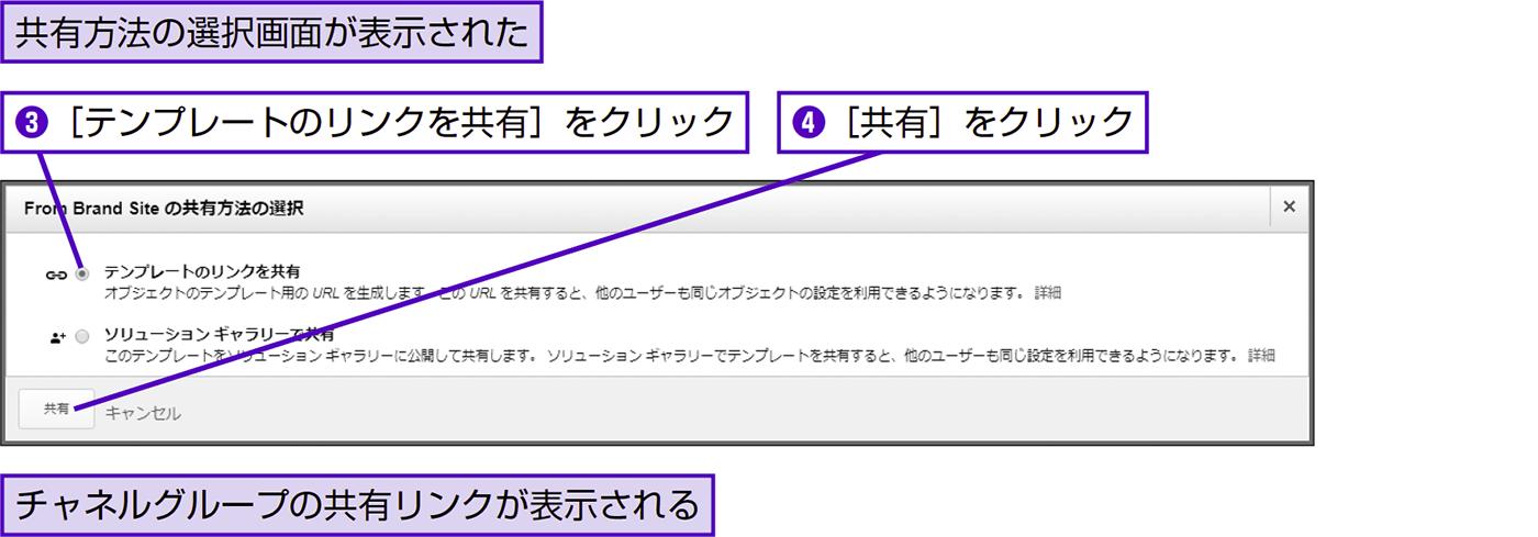 チャネルグループを共有する - できる逆引き Googleアナリティクス 増補改訂2版