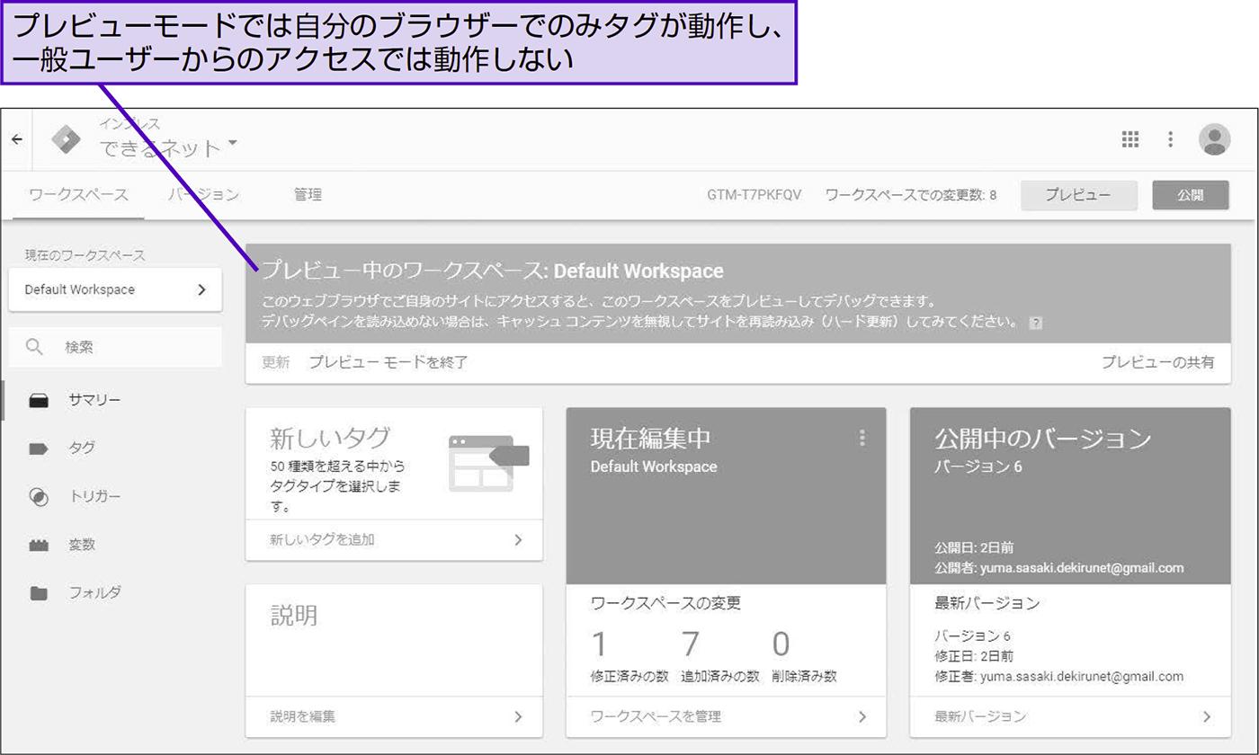 Googleタグマネージャの設定が反映されない原因を知る - できる逆引き Googleアナリティクス 増補改訂2版