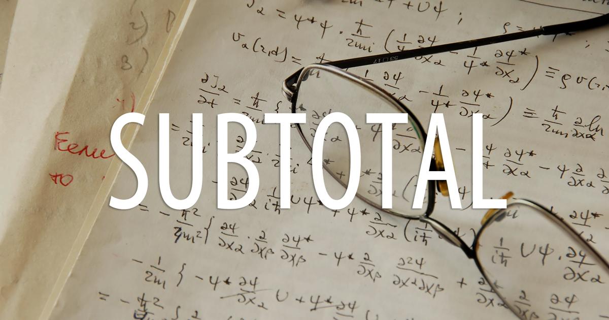 関数 subtotal エクセル 【Excelで仕事力アップ】 SUBTOTAL関数を活用。フィルター機能と組み合わせて条件付き集計がすばやくできる!