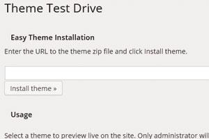 WordPress「Theme Test Drive」プラグインの使い方:作成したテーマを安全にテストする